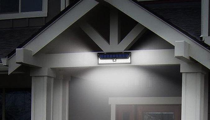 Large Size Weatherproof Solar Sensor with 86 LED Lights - 1 or 2