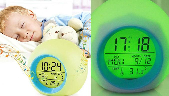 Colour Changing Wake Up Alarm Clock