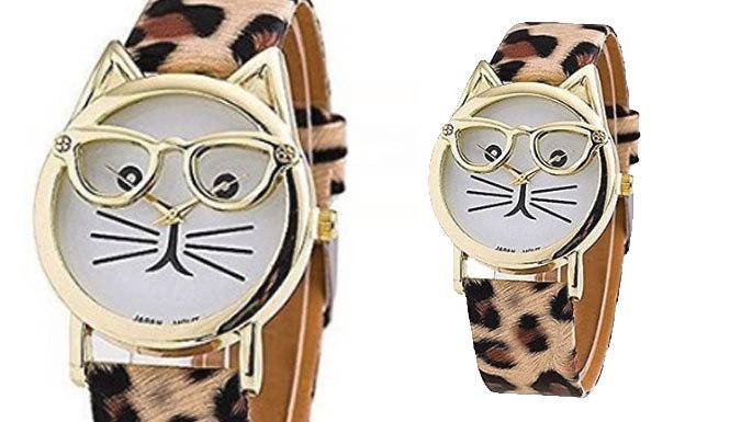 Crazy Cat Watch - 3 Designs