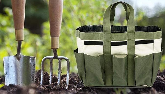 Garden Tool Organiser Tote Bag