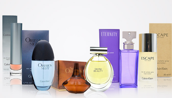 Calvin Klein Fragrances for Him and Her