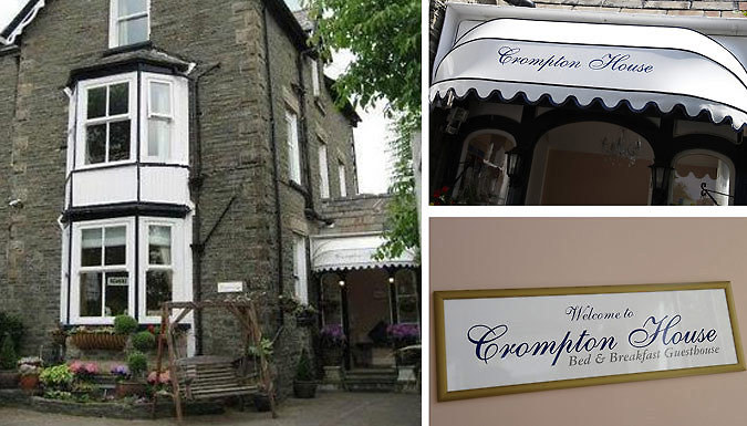 1-2 Night Stay For Two With Breakfast - Save Up To 37% from Crompton House Guest House