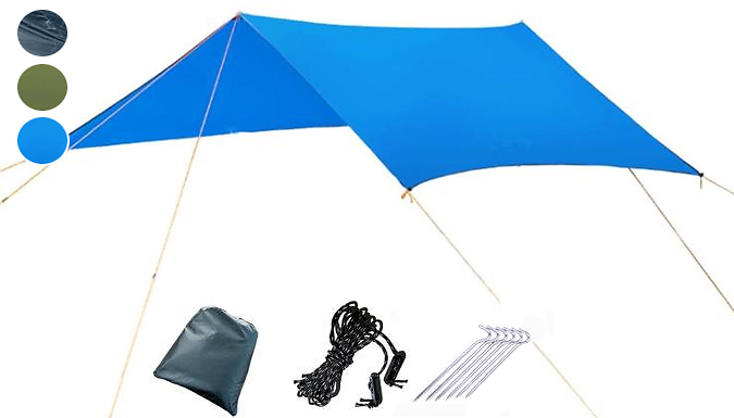 2-in-1 Portable Lightweight Camping Tent and Mat - 3 Colours