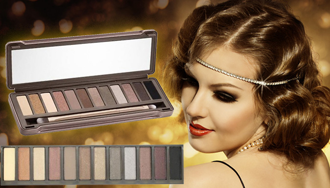 Miss Pouty 12 Colour Nude Eye Palette - One or Two