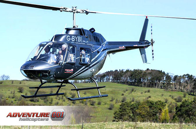 6-Mile Buzz Helicopter Flight - 23 UK Venues