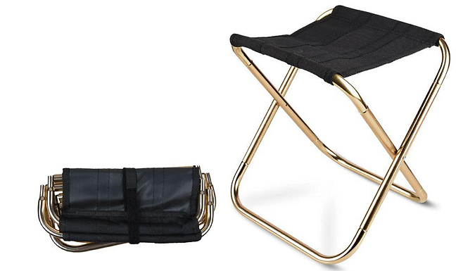 Portable Folding Outdoor Camping Chair - 2 Colours
