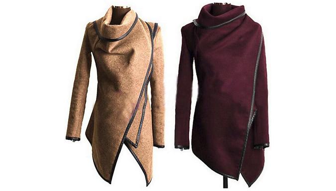 Asymmetrical Winter Jacket - 5 Colours