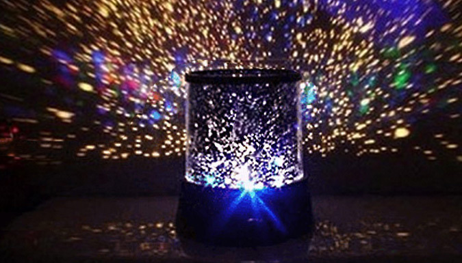 LED Multi-Colour Star Projectors - Choice of 1 or 2