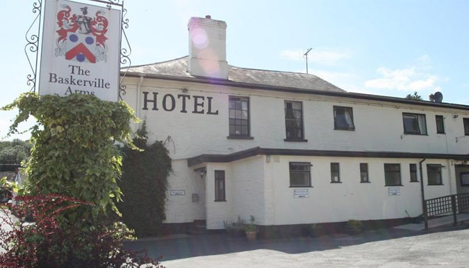 1-2 Night Country Inn Stay For Two With Breakfast - Save Up To 51% from The Baskerville Arms, Powys