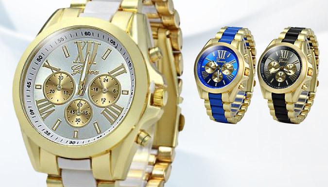Geneva Unisex Watch - 3 Colours