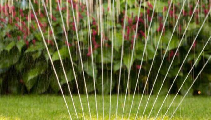 10-Piece Garden Hose Water Sprinkler Set