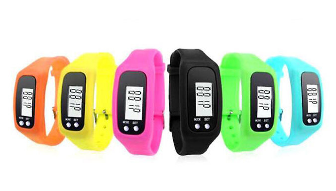 4-in-1 Fitness Activity Tracking Watch - 1 or 2