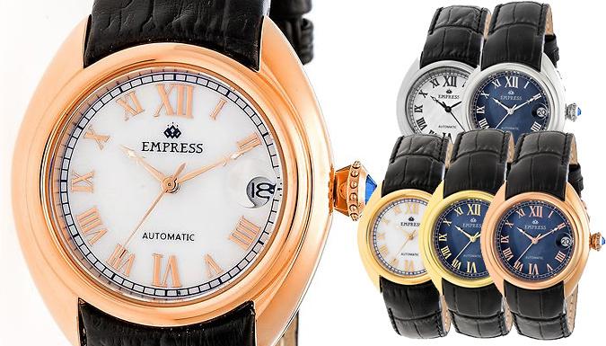 Empress Antoinette MotherofPearl Automatic Watch  6 Colours
