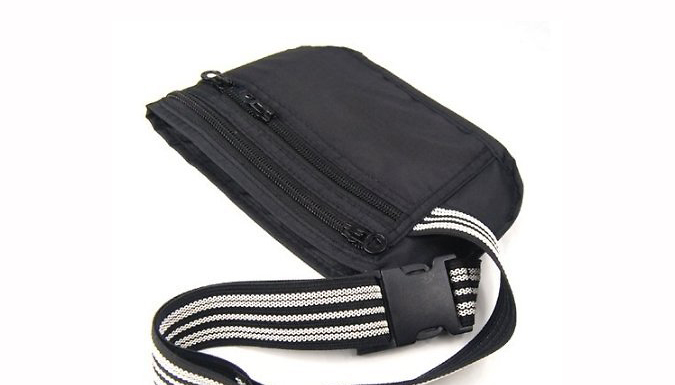 Concealed Travel Money Belt - Buy 1 or 2