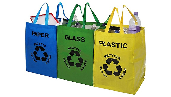 1 or 2 Sets of Premier Housewares Recycle Bags