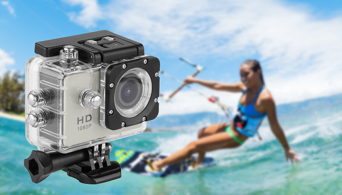HD Waterproof Action Camera
