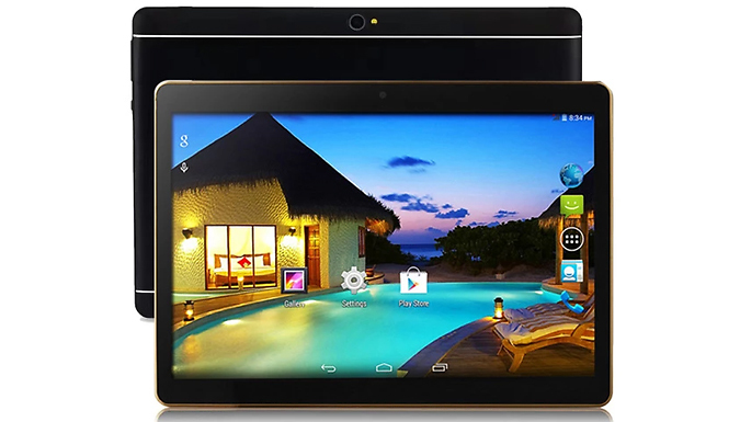 1 or 2GB RAM 10.1 Inch Android 3G Tablet with Dual Sim Card Support - 4 Colours & 2 Storage Options from Wish Whoosh Offers