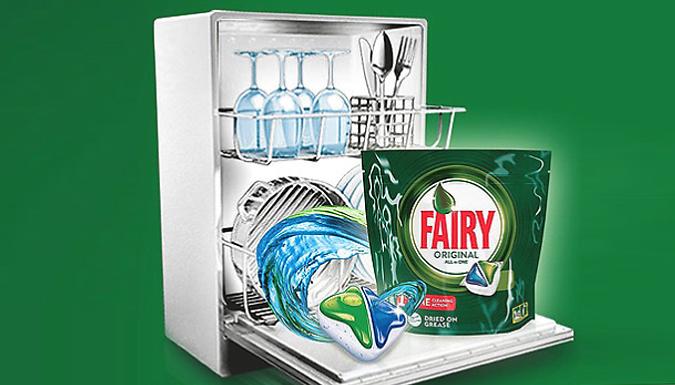 Fairy Original Dishwasher Tablets - 84, 168 or 252 Tablets!