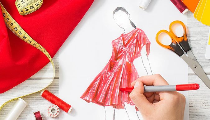 DDDeals - Fashion Design and Dressmaking Online Course