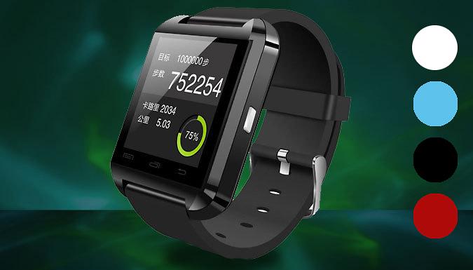 Bluetooth Smart Watch; 4 Colours