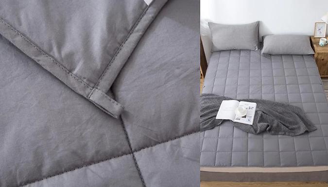 7KG Anthracite Weighted Blanket - 150cm x 200cm