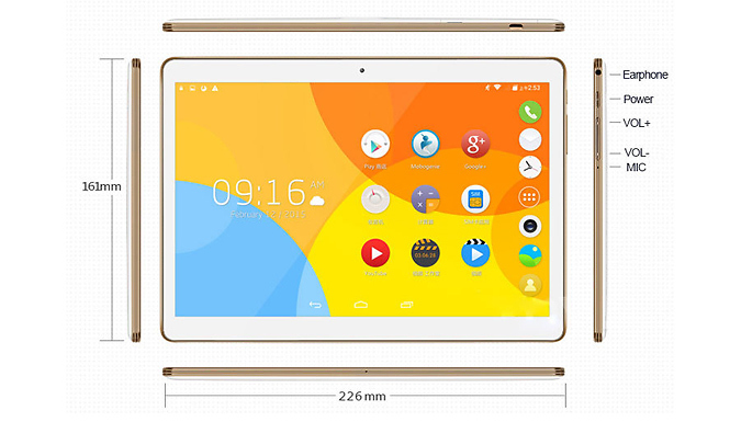 Compare prices for 10.1 Inch Smartpad IPS Wi-Fi Tablet with Optional Case or Keyboard - 2 Colours