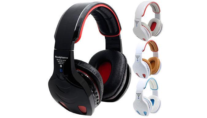 3-in-1 LED FM Radio Headphones