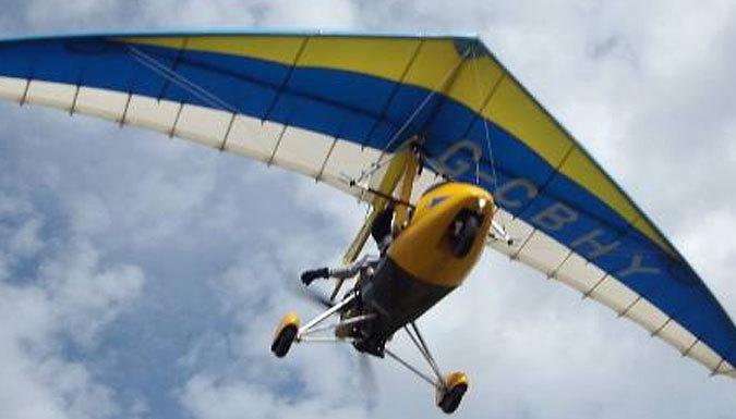 30-60 Minute Delta Microlight Trial Flight - Cambridgeshire