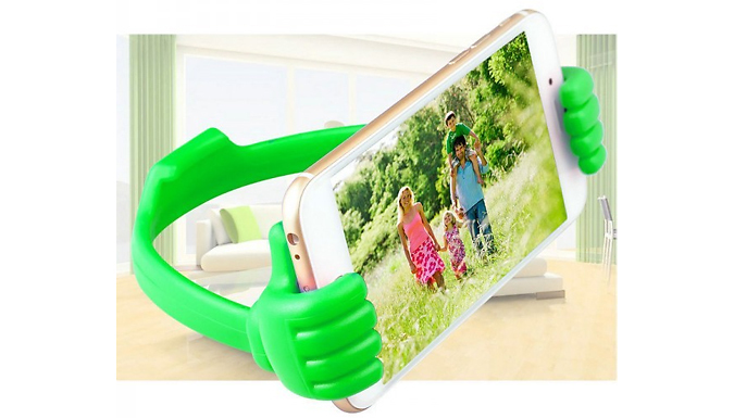 Compare retail prices of 'Thumbs Up' Phone & Tablet Holder to get the best deal online