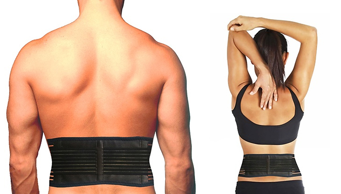 3-in-1 Self Heating Magnetic Back Wrap & Support