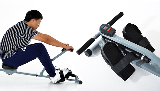 DDDeals - Rowing Machine With Monitor