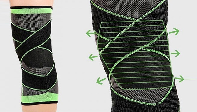 1 or 2-Pack of Breathable Knee Brace Support - 3 Sizes from SecretStorz