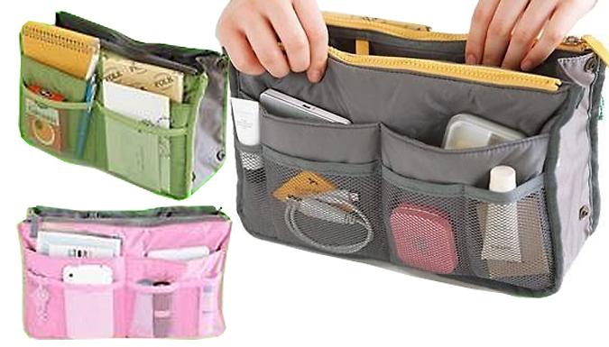 Travel Organiser Bag - 2 Colours