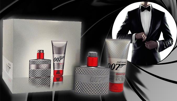 James Bond 007 Quantrum Eau de Toilette Gift Set