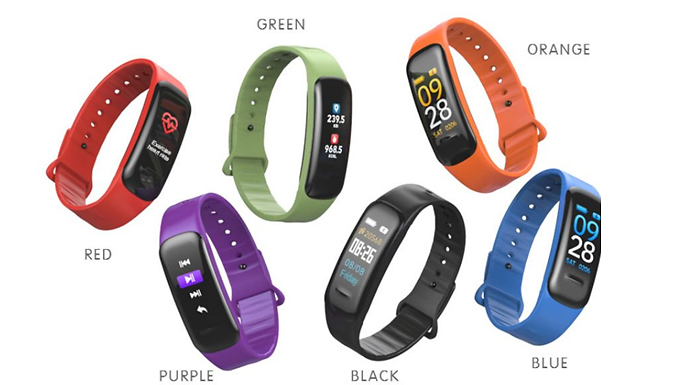 C1 Plus Bluetooth Smart Band - 6 Colours