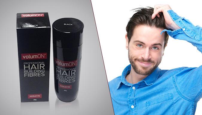 1 or 2 Volumon® Hair Building Keratin Fibre Formula  8 Hair Shades