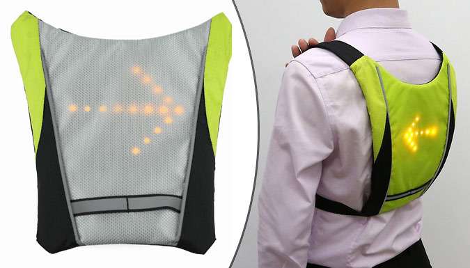 Indicating High Visibility Safety Vest