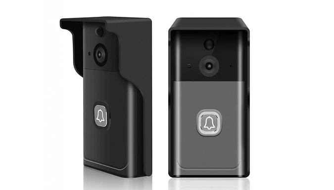 Smart Waterproof Wi-Fi Video Doorbell - 2 Colours from Domosecret