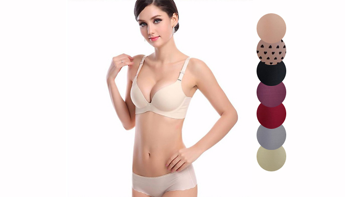 Seamless Underwear Set; 7 Colours