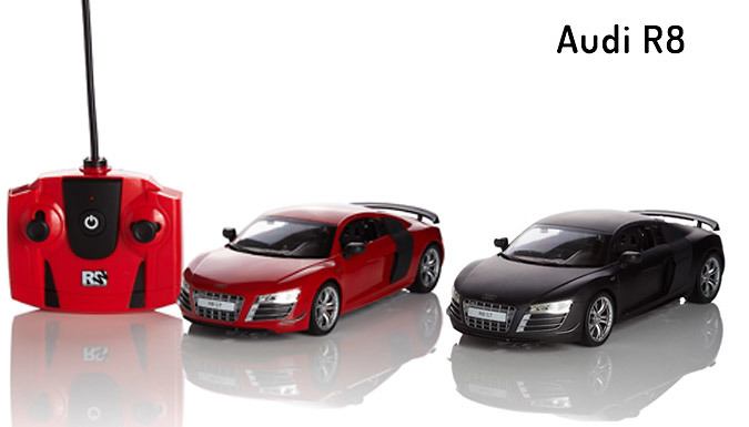 1:24 Scale-Model Remote Control Cars - 11 Models