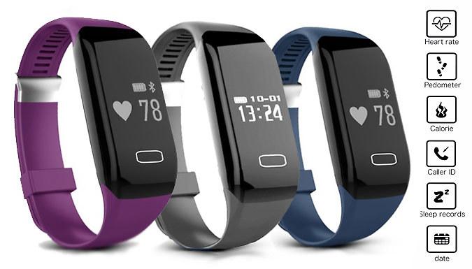 DDDeals - Smart Bluetooth Sports Activity Bracelet - 3 Colours