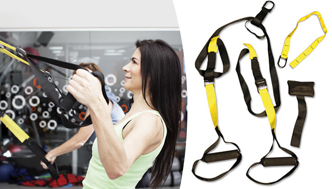Suspension Trainer For Home or Gym