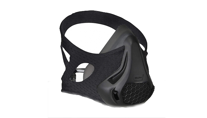 Sports Breathing Resistance Face Mask from MBLogic
