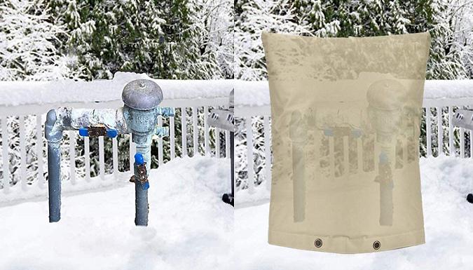 Heavy-Duty Waterproof Garden Tap Cover - 2 Colours