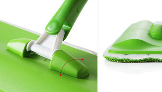Microfibre Spray Mop with 2, 4 or 8 Optional Mop Pads