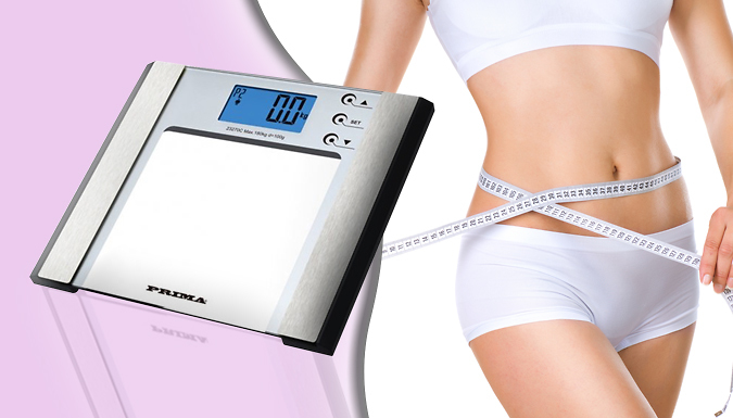 7-in-1 Digital Body Fat Monitoring & Weighing Scale