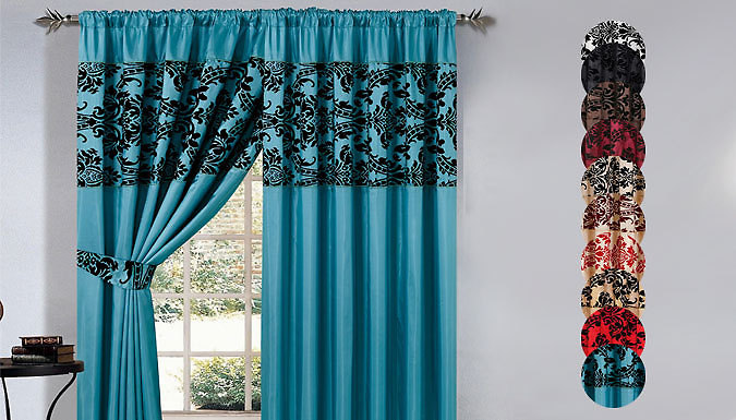 DDDeals - Pencil Pleat Curtains - 2 Sizes and 10 Colours