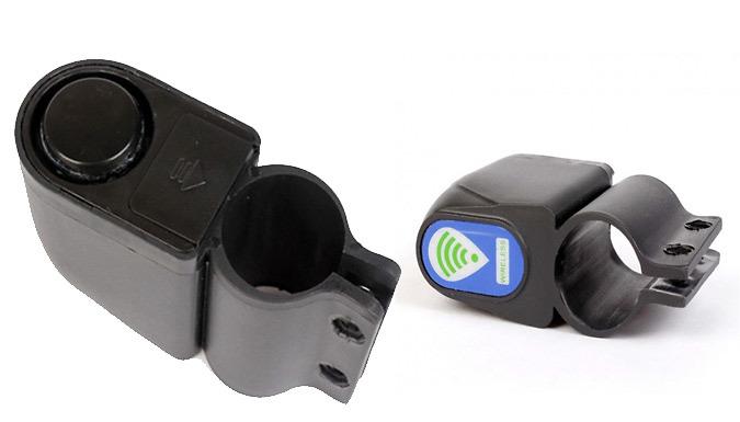 Wireless Bike Alarm With Remote
