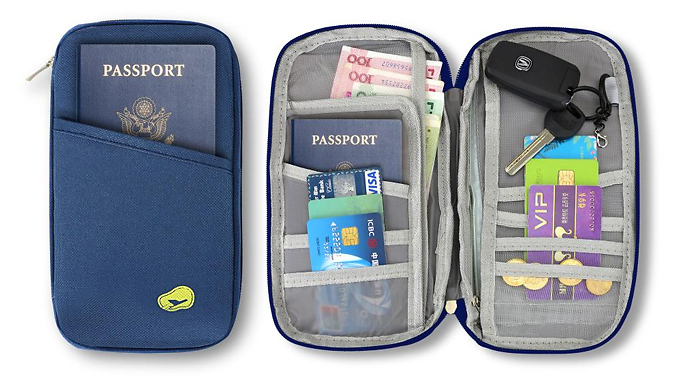 Protective Travel Wallet Pouch - 2 Colours from Home Season