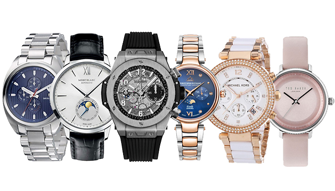 Mystery Designer Watch for Him or Her – Rolex, Hugo Boss, Michael Kors & More! Deal Price £ 9.99